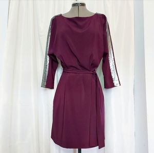Armani Exchange Plum Dress Size 8